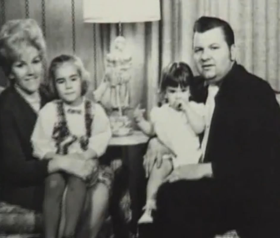 John Wayne Gacy e sua família.