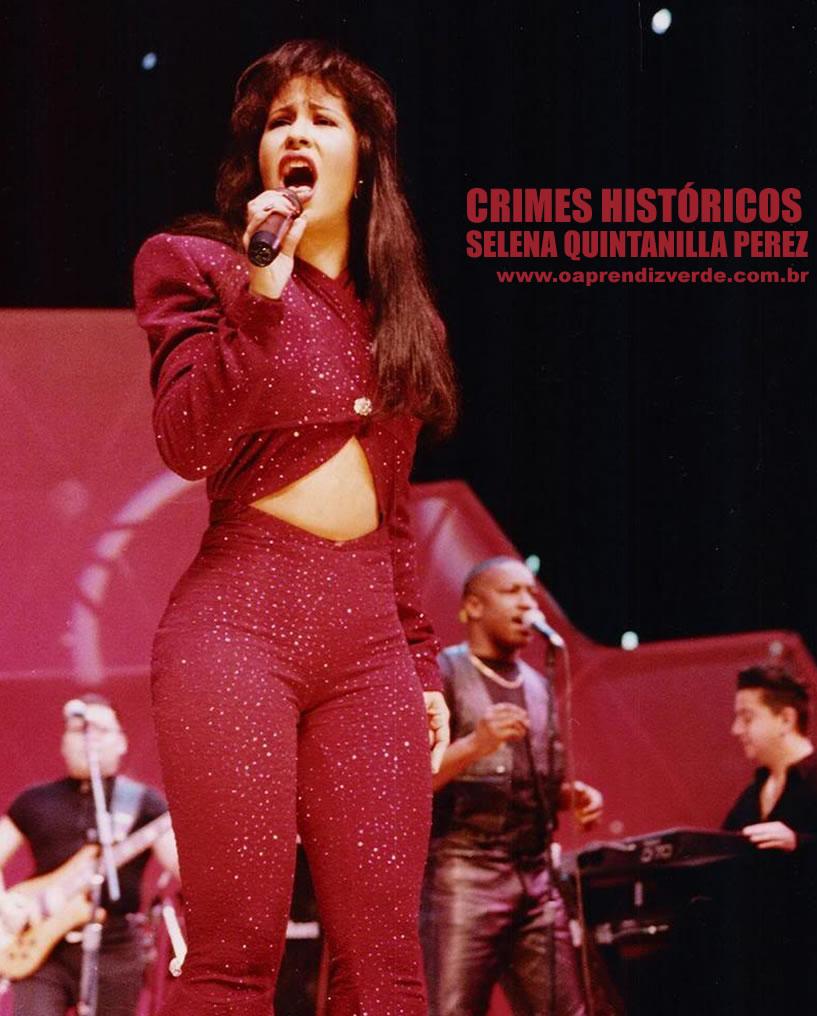 Crimes Historicos - Selena Perez - Capa