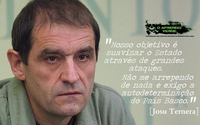 Josu Ternera - Os Maiores Terroristas do Século 20