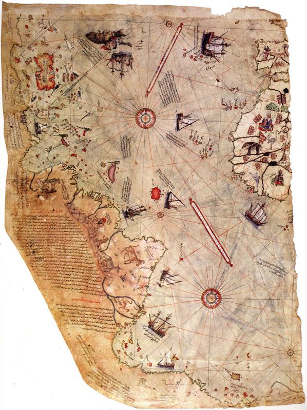 Grandes Mistérios - O Mapa de Piri Reis