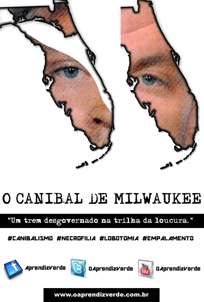 Serial killers - O Canibal de Milwaukee - Capa