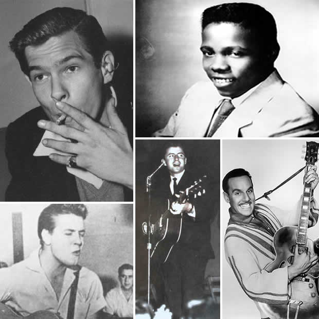 Johnnie Ray, Johnny Ace, Johnny Burnette, Johnny Tilotson e Johnny Ottis.