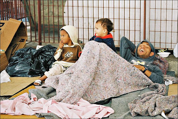 Na foto: Meninos de rua. Fonte: Uol