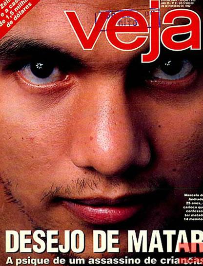 Na foto: Marcelo Costa de Andrade foi capa da revista Veja em 24 de fevereiro de 1992. Fonte: Revista Veja.