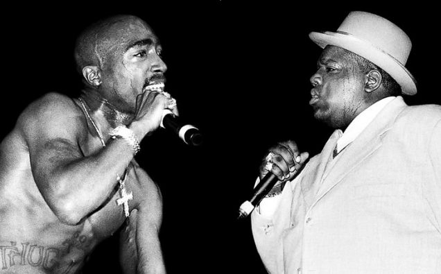 Tupac Shakur e Notorious BIG - Crimes q
