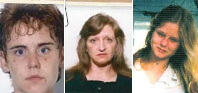 Jacqueline McDonnell, Inga Hall e Sheila Egan.