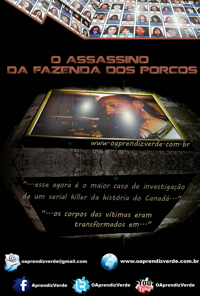 Serial Killers - O Assassino da Fazenda dos Porcos - Capa