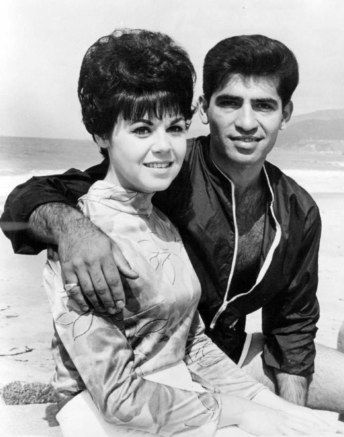 Linda Scott e Steve Alaimo, 1966.