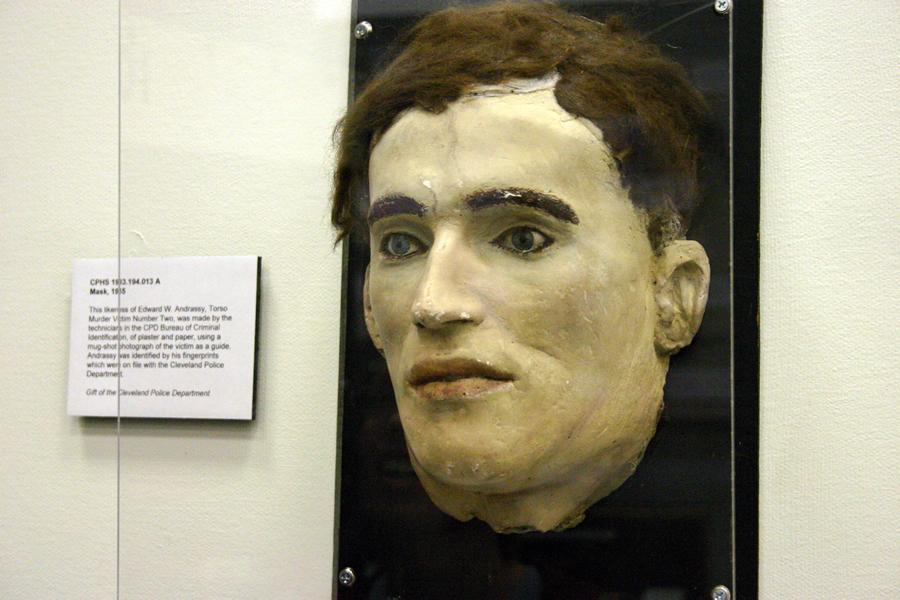 Na foto: A máscara da morte de Edward Andrassay. Créditos: Flickr Dan Coulter.