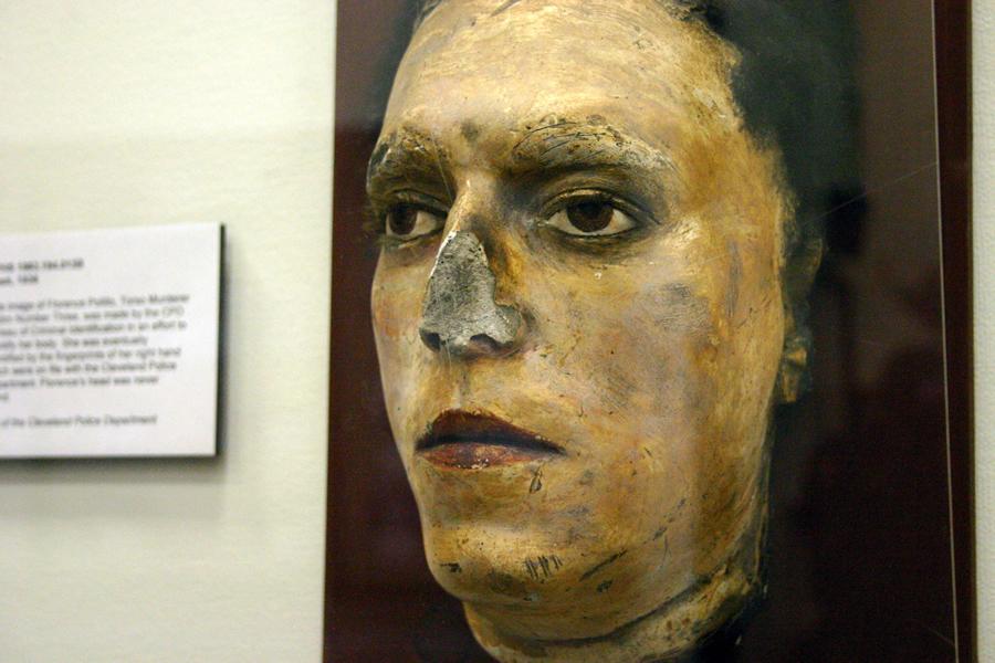Na foto: A máscara da morte de Flo Polillo. Créditos: Flickr Dan Coulter.