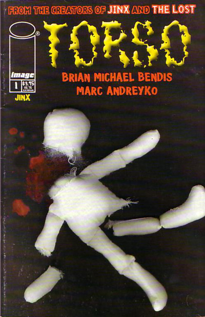 """Na foto: Capa da primeira edição da graphic novel """"Torso""""."""