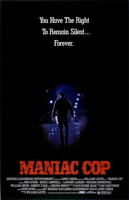 77 Filmes de Serial Killers - Maniac Cop - Poster