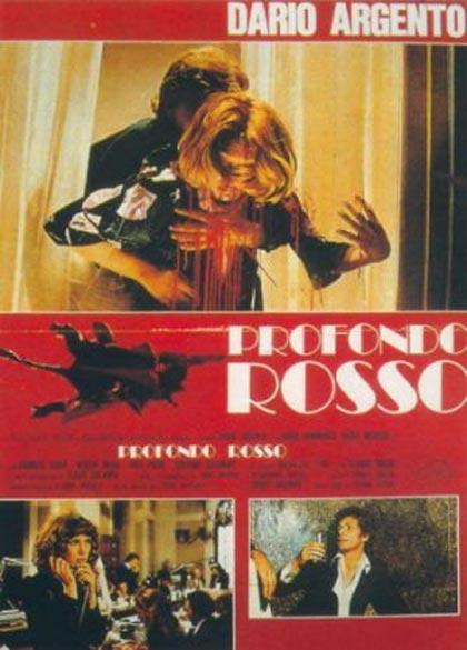 77 Filmes de Serial Killers - Profondo Rosso - Cartaz