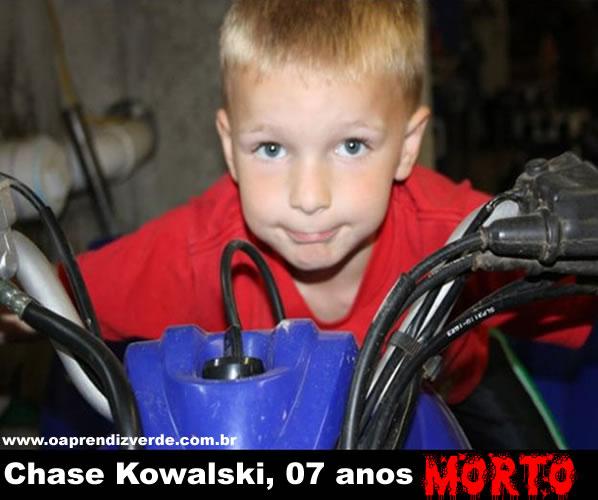 Chase Kowalski, 7 anos.