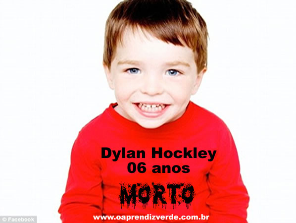 Dylan Hockley, 6 anos. Foto: Facebook