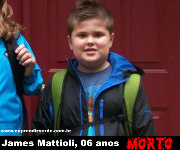 Na Foto: James Mattioli, 6 anos