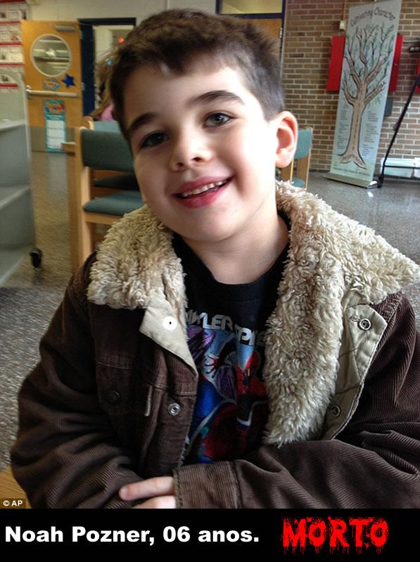 Noah Pozner, 6 anos