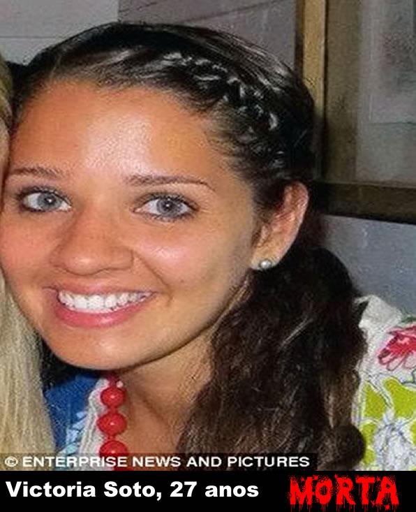Victoria Soto, 27 anos. Professora da Escola Sandy Hook, era bastante popular entre os alunos. Era conhecida pelo hábito de mascar chicletes.