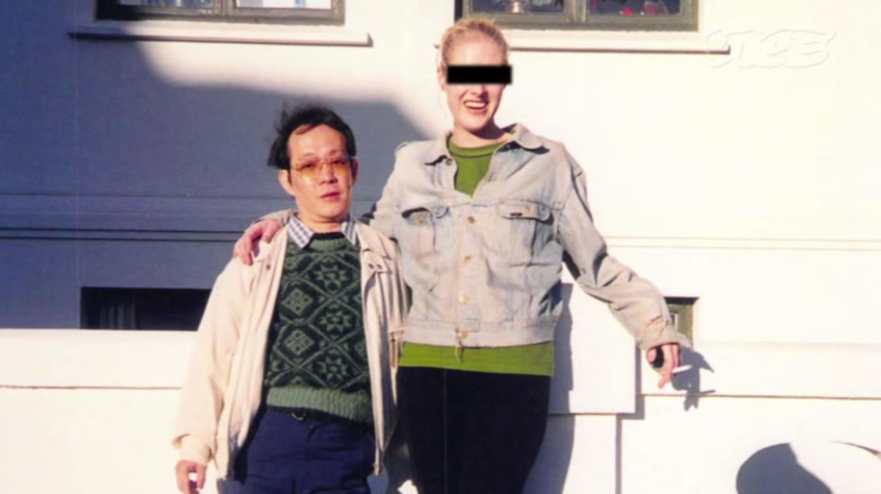 Na Foto: Issei Sagawa e sua amiga Rhonda. O que esse japa tem que eu não tenho ?