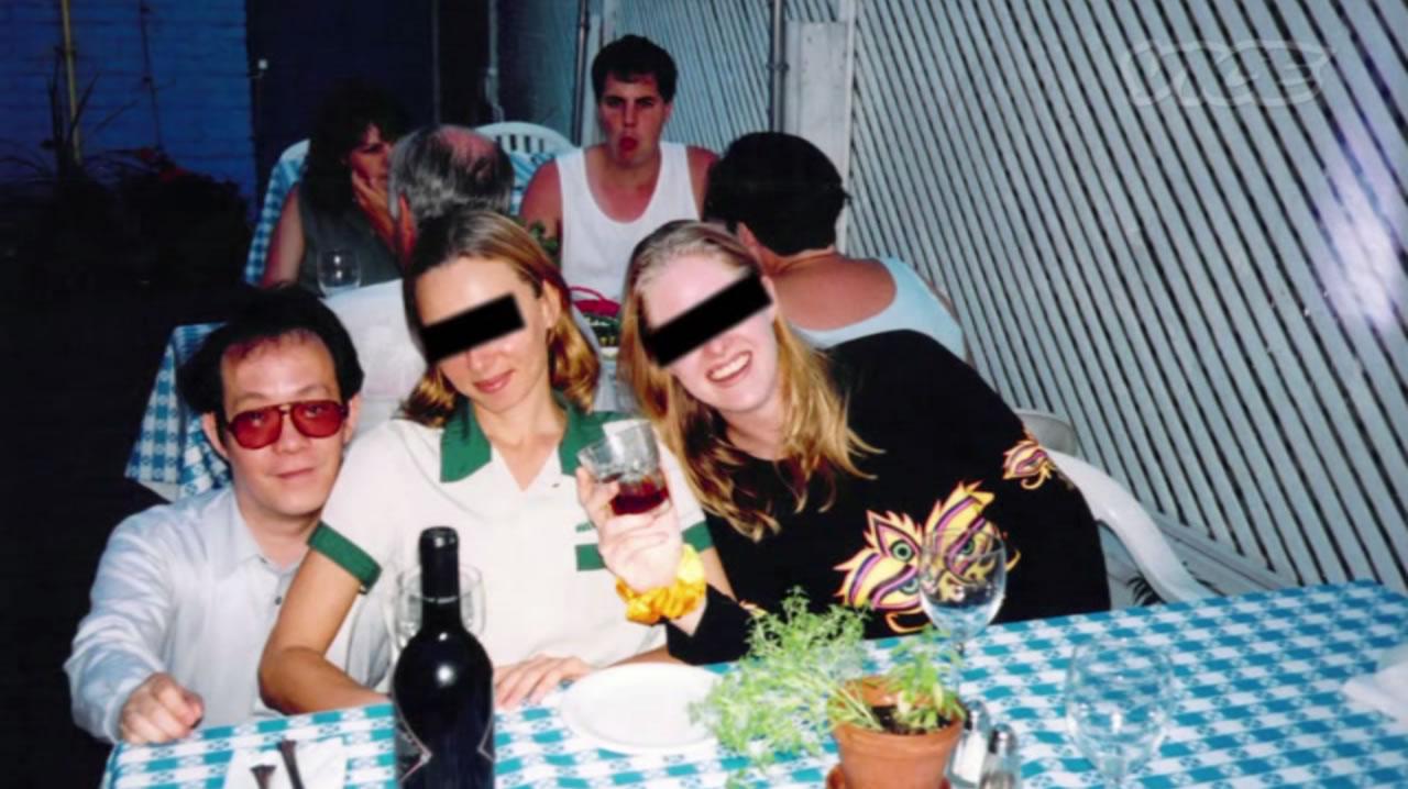 Na Foto: Issei Sagawa e suas amigas Thalia e Rhonda.