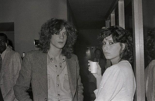 Na Foto: Getty III e sua mulher Martine. Data: 11 de abril de 1975