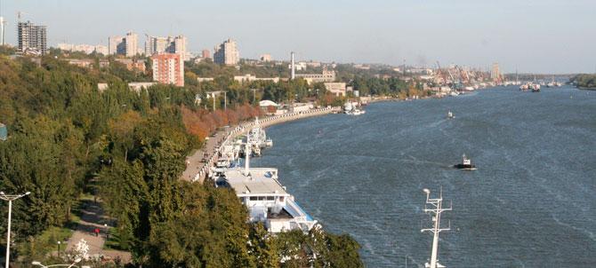 Na Foto: Uma vista da cidade de Rostov-on-Don e do Rio Don. Créditos: IBSC.