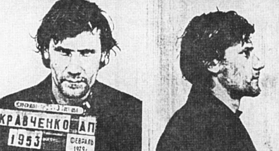 Na Foto: Alexander Kravchenko. Alexander foi acusado, injustamente, da morte de Yelena Zakotnova em dezembro de 1978.