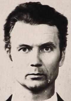 Na Foto: Andrei Romanovich Chikatilo, por volta dos 47, 48 anos.
