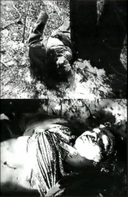 Na Foto: O corpo de Marta Ryabenko, 45 anos, encontrado em 21 de fevereiro de 1984 no Parque dos Aviadores em Rostov.