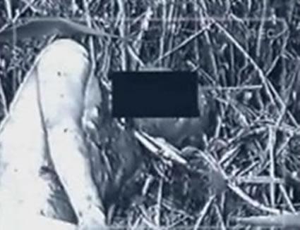 Na Foto: Imagem do corpo de Ivan Fomin, encontrado no dia 17 de agosto de 1990 em Novocherkassk.