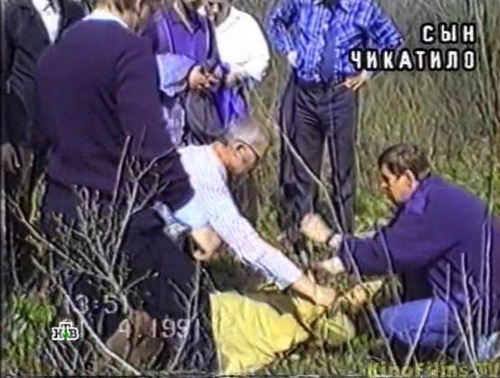 Na Foto: Reconstituição de um dos crimes de Andrei Chikatilo. Créditos: HTB.