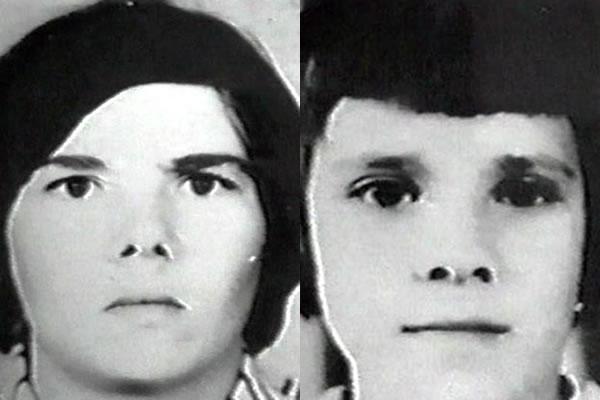 Na Foto: Tatyana Petrosyan e sua filha Svetlana Petrosyan. Desaparecidas em maio de 1984, os corpos de mãe e filha foram encontrados dois meses depois em uma área florestal de Shakhty.