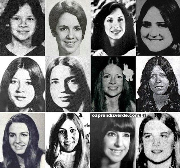 Na Foto: Vítimas de Ted Bundy