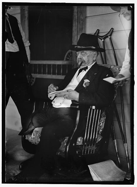 Na foto: Daniel Sickles, em 1913, um ano antes de falecer. Créditos: Biblioteca do Congresso americano.