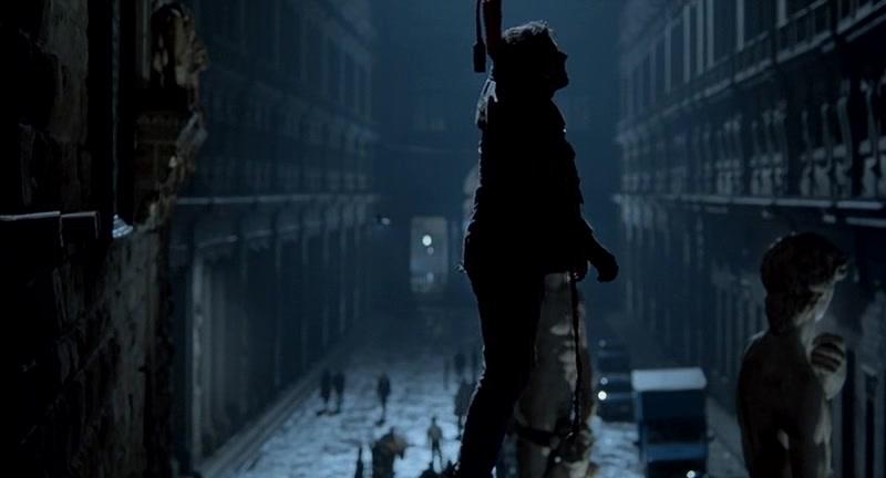 """Na Foto: Cena do filme """"Hannibal"""" de 2001. A morte de Rinaldo Pazzi."""