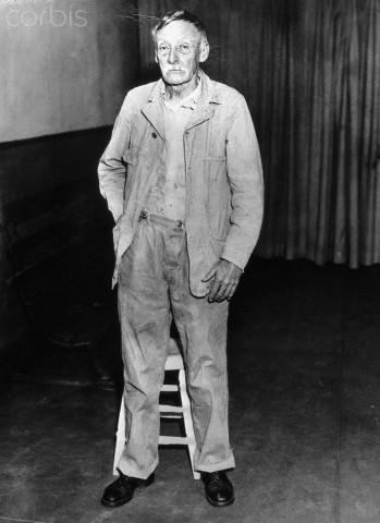 Na Foto: Albert Fish. Data: 20 de fevereiro de 1935. Créditos: Corbis.