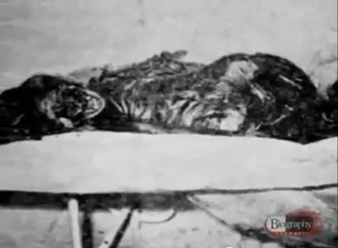 Na Foto: O corpo de Ivanova Jácome, encontrado 20 dias depois do seu desaparecimento. Créditos: Documentário Biography Channel.
