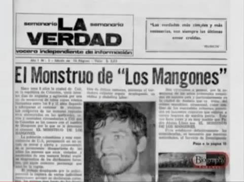 """Na foto: Jornal equatoriano noticia a história do """"Monstro dos Andes"""". Créditos:"""
