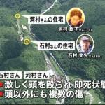 Japão caça spree killer que matou 5