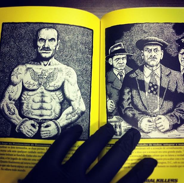 Na foto: A história de Carl Panzram. Fonte: Serial Killers - Anatomia do mal