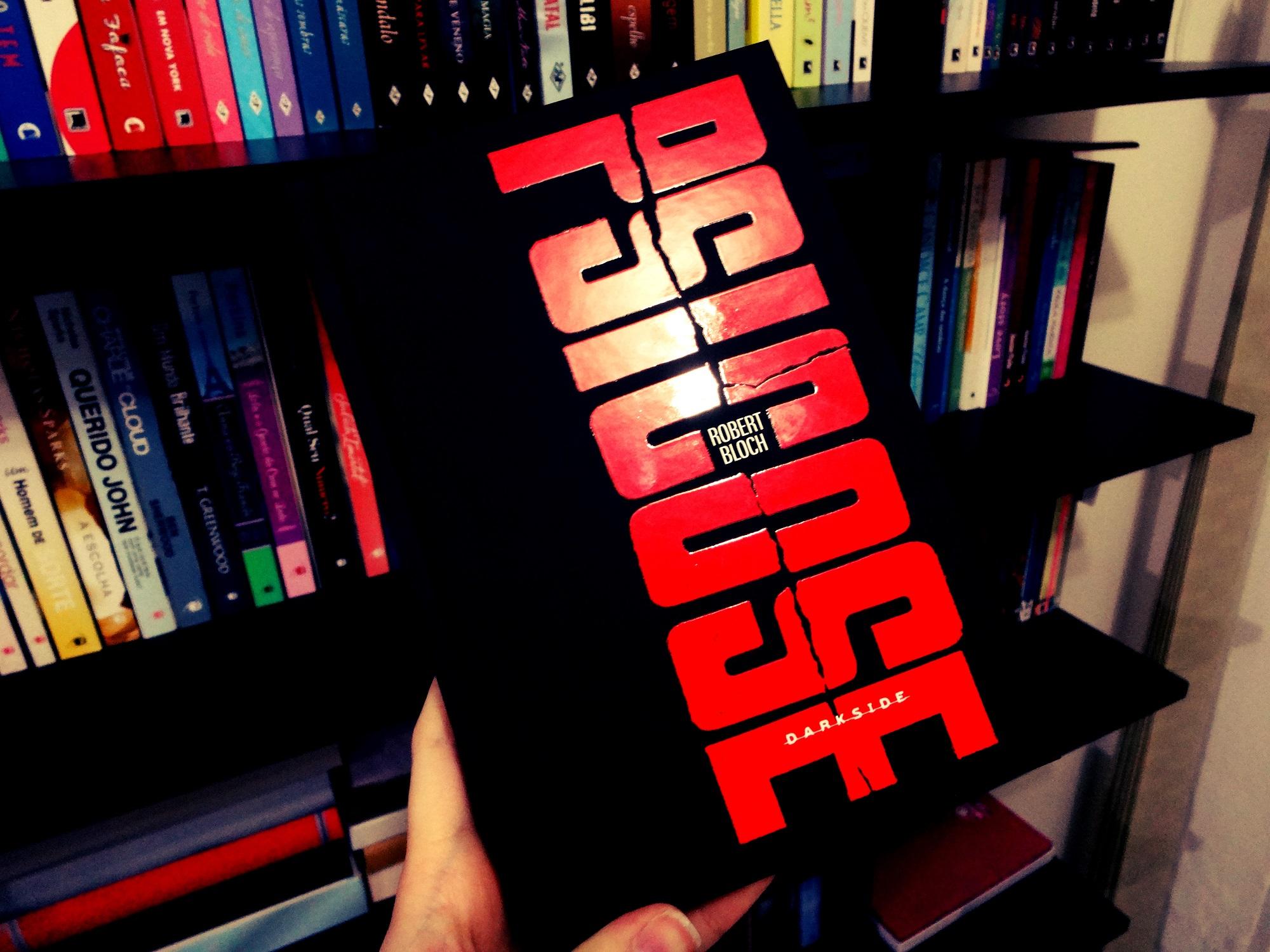 Capa do livro Psicose, lançamento da DarkSide Books. Créditos da imagem: book-addict.com