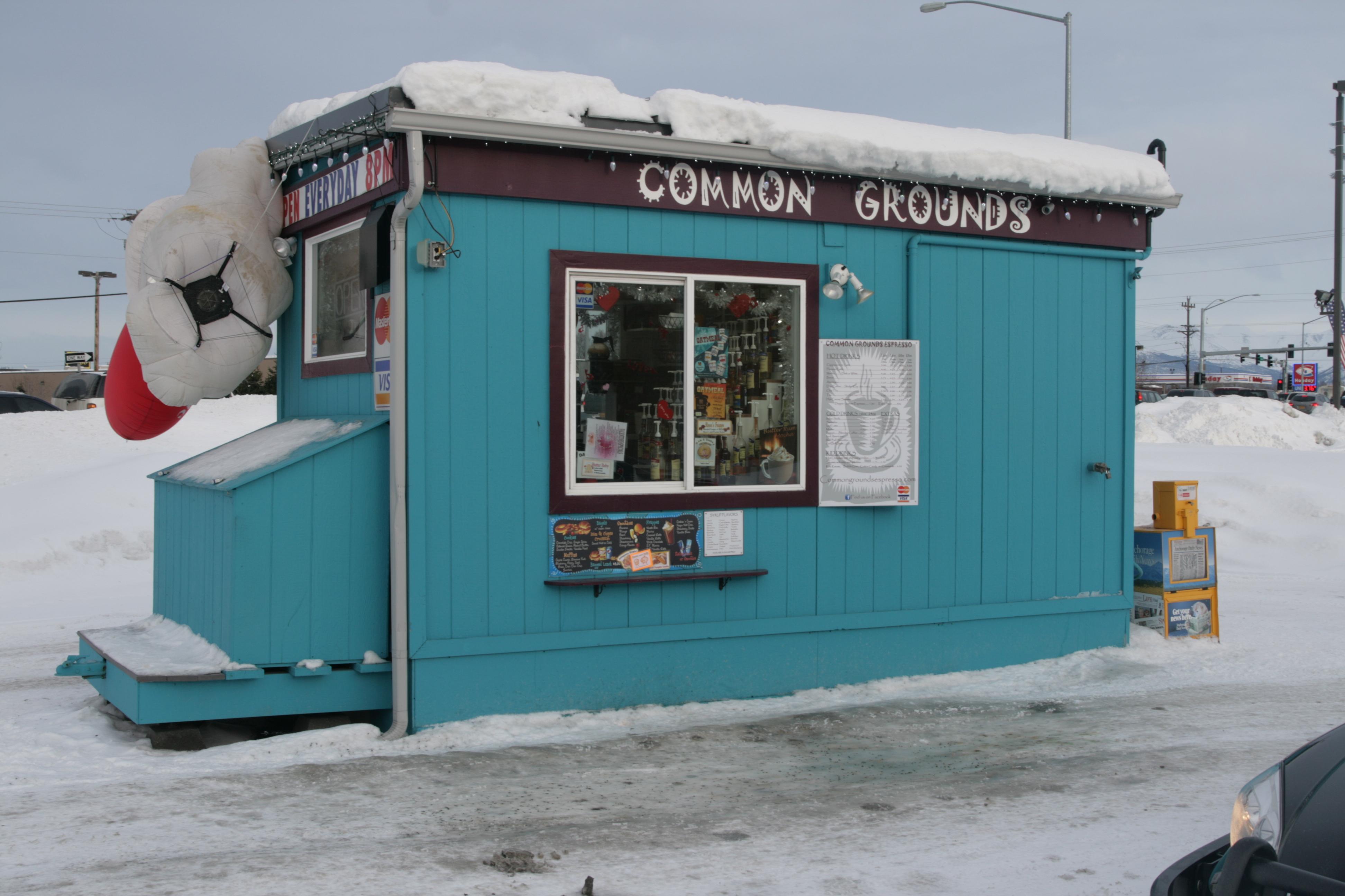 Na foto: O Common Grouns Expresso Stand, local de trabalho de Samantha. Créditos da imagem: FBI.