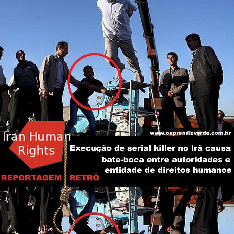 A execução de Mehdi Faraji