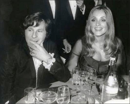 Foto: Roman Polanski e sua bela mulher, a atriz Sharon Tate
