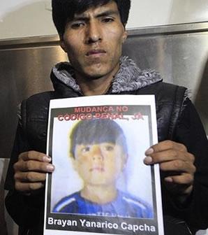 Notorios e Horripilantes Crimes de 2013 - Brayan Yanarico Capcha