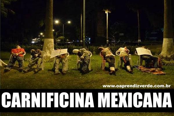 Notorios e Horripilantes Crimes de 2013 - Carnificina Mexicana
