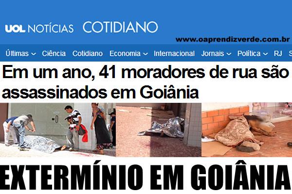 Notorios e Horripilantes Crimes de 2013 - Exterminio em Goiania