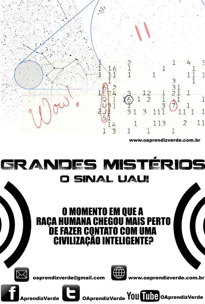 Grandes Misterios - O Sinal Uau - Capa