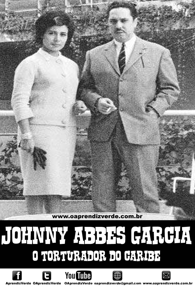Johnny Abbes Garcia - O Torturador do Caribe - Capa