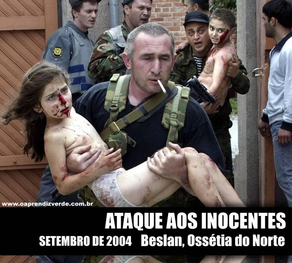 Massacre na Escola de Beslan - Capa